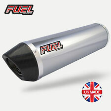 SFV650 Gladius Diablo Polished S/S Round Mini UK Legal Exhaust, Carbon Tip