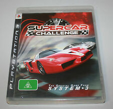 SUPERCAR CHALLENGE - AUS PAL - SONY PS3 / Playstation 3 Game - Complete