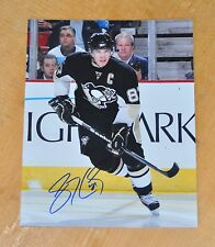 SIDNEY CROSBY ~ ORIGINAL SIGNED / AUTOGRAPHED 8x10 Photo PITTSBURGH PENGUINS