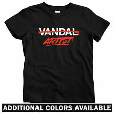 Artist Not Vandal Kids T-shirt - Baby Toddler Youth - Street Art Graffiti Skate