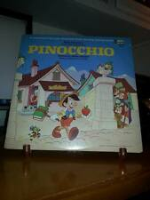 DISNEYLAND LP'S PINOCCHIO LP #3905 c1969 WITH COMPLETE BOOKLET---AWESOME