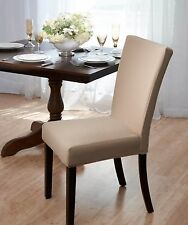 Madison Subway Dining Chair Cover, Stretch, Dining Room, Tile / Brick Pattern