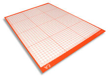 A3 Cutting Mat w/ Non-Slip Sticky Surface Printed Meauring Grid Cutter Craft