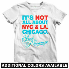 Best Recognize Chicago Kids T-shirt - Baby Toddler Youth Tee - Bears Bulls Cubs