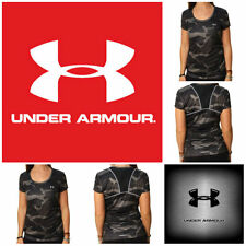 Under Armour Women's Camouflage Semi-Fitted HeatGear Shirt NWT Free Shipping S-L