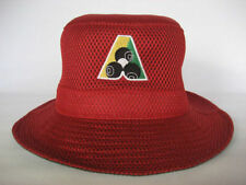 Avenel Red Mesh Lawn Bowls Bucket Hats