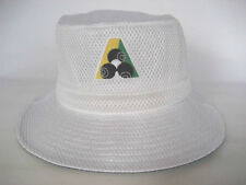 Avenel White Lawn Bowls Bucket Hats