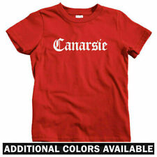 Canarsie Gothic Brooklyn Kids T-shirt - Baby Toddler Youth Tee - NYC Hip-Hop Rap