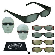 Square Reading Glasses Tinted Full Lens Sun Reader Sunglasses Mens Womens Unisex