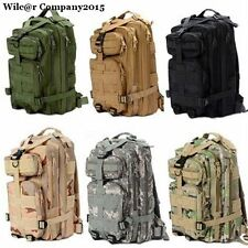 Outdoor Military Tactical Rucksack Camping Hiking Trekking Backpack Day Packs