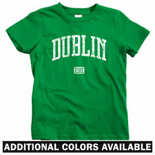 Dublin Ireland Kids T-shirt - Baby Toddler Youth Tee - Irish Gift St Patricks