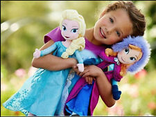 2 pcs Frozen Princes Elsa/Anna Olaf/Sven Soft Stuffed Plush Doll Gift Toy