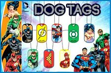 DC COMICS DOG TAG NECKLACES
