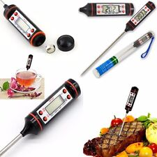 Kitchen Digital Cooking Thermometer Food Meat BBQ ºC ºF  Testing