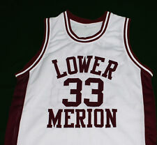 KOBE BRYANT LOWER MERION HIGH SCHOOL JERSEY White NEW SEWN ANY SIZE