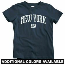 New York 212 Kids T-shirt - Baby Toddler Youth Tee - NYC City Manhattan Harlem