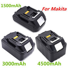 18V Lithium Ion Battery 1.5AH/3.0AH/4.5AH For Makita BL1815 BL1830 BL1845 LXT400