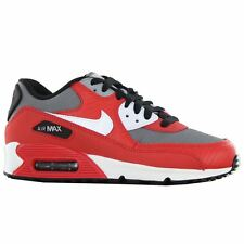 Nike Air Max 90 GS Red Youths Trainers - 307793-602