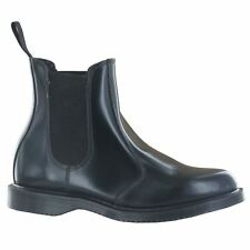 Dr.Martens Flora Black Leather Womens Boots - 14649001