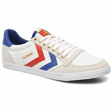 Hummel Slimmer Stadil Low White Multi Mens Trainers - 63-512-9228