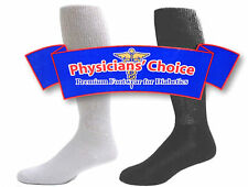 12 Pairs Physicians Choice Diabetic Comfy Stretch Fit Knee High Over Calf Socks