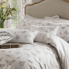 Kew Gardens Butterflies luxury embroidered cushion cover