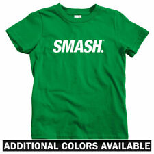 Smash Slanted Logo Kids T-shirt - Baby Toddler Youth Tee - Streetwear Fashion