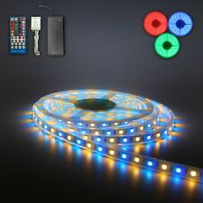 10M 20M RGBW 5050 SMD LED Strip Light Flexible Waterproof Christmas Party IR 12V