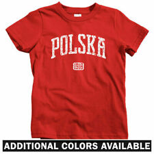 Polska 1918 Poland Kids T-shirt - Baby Toddler Youth Tee - Polish Krakow Wroclaw