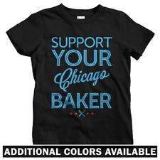 Support Your Chicago Baker Kids T-shirt - Baby Toddler Youth Tee - Cake Bakery
