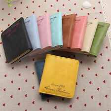 Women's Leather Wallet Coin Purse Clutch Wallet Lady  Card Small Bags US STOCK