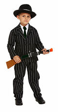 Childrens Gangster Dressing Up Outfit Bugsy Malone 1920's Fancy Dress Costume