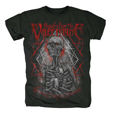 BULLET FOR MY VALENTINE - SKELETON - OFFICIAL MENS T SHIRT