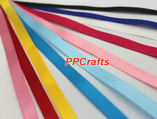 Wholesale Double Face Satin Ribbons Top Quality~ Many Colors & Sizes 100YDS/Roll