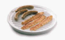 Nordic Ware 62404 Microwave Two-Sided Bacon / Meat Grill