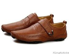 mens casual loafer leather soft-soled octopus Moccasins Driving shoes