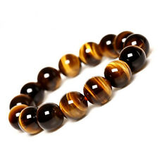 Natural Round Tiger Eye Loose Gemstone Charms Spacer Beads Jewelry Findings