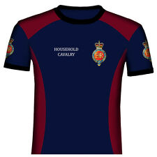 HOUSEHOLD CAVALRY  REGIMENT OF THE BRITISH ARMY- MILITARY  T SHIRTS