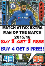 MATCH ATTAX EXTRA 2015/16 MAN OF THE MATCH & MAGIC MOMENT CARDS BUY 3 GET 3 FREE