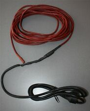 Frost protection cable Trace heating Eaves gutter roof gutter 20 Watt/Meter