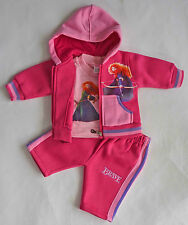NEW Girl Disney Brave 3 pieces winter set Hot Pink Size 0000,000,00,0,1,2