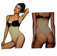 Cute Seamless HI-WAIST Thong Body Shaper, WAIST Trimmer Tummy Cincher Shapewear