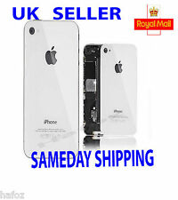 Genuine Glass Replacement Back for  iPhone 4 4S Rear Battery Cover