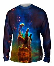 Yizzam- Space Galaxy Pillars Of Creation - New Mens Long Sleeve Tee Shirt XS S