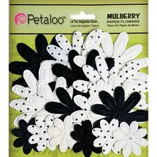 Mulberry Paper Embossed Daisies 18/Pkg. Delivery is Free
