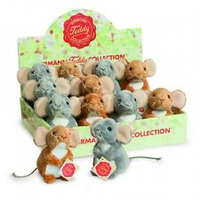 Sitting Up Mice Soft Toy Plush by Teddy Hermann Collection