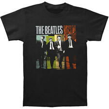 Beatles Men's  Black Ties Color T-shirt Black Rockabilia