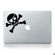 Pirate Skull, Eye Patch & Crossbones Vinyl Decal - jolly roger car sticker K001