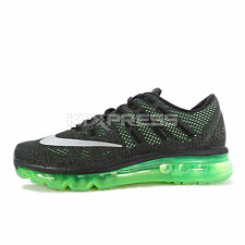 Nike Air Max 2016 GS [807236-003] Running Black/Silver-Green