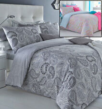 Pieridae Duvet Cover Pillow Case Quilt Cover Bedding Set Paisley Stripe Chevron